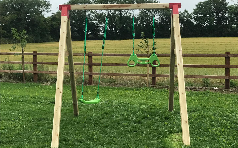 swings in garden